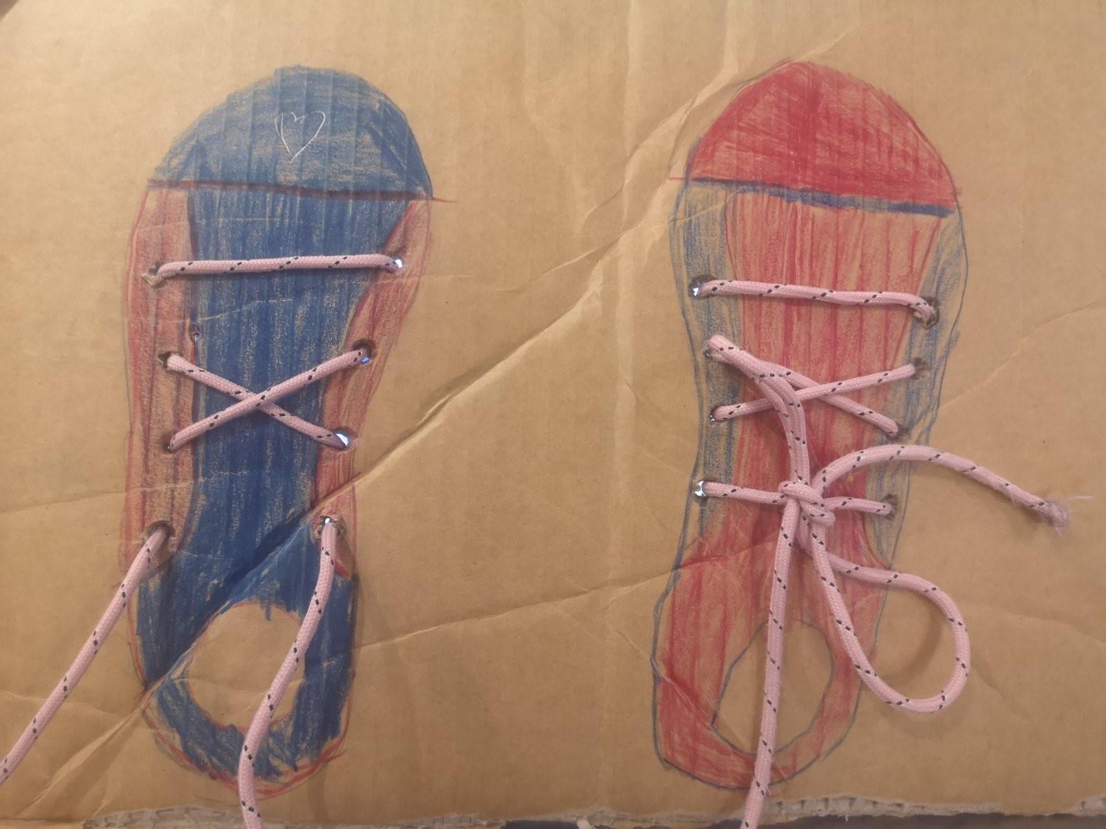 Učimo vezati vezice