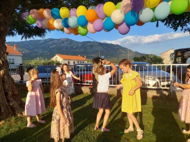Završno druženje sa djecom i roditeljima dječjeg vrtića Gruda-Dom